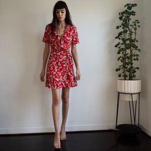Topshop Floral Dress size 2